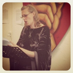 Reading at Studio 50, hosted by Jessica Ceballos
